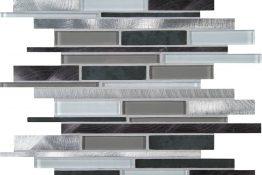 Mosaic glass + metal 1