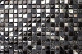 Mosaic stone + glass + metal $ 9.95