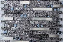 Mosaic glass + metal 7